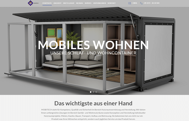Containerbau Mobitech Beis