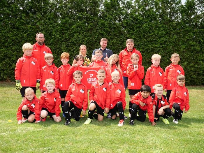 Jugendfußballmannschaft SG Wintermoor 68